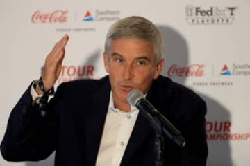 PGAツアーのジェイ・モナハン会長は危機感 徹底抗戦の構えだ(撮影:GettyImages)