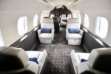 双日、ボンバルディアGlobal7500のチャーター運航開始 画像