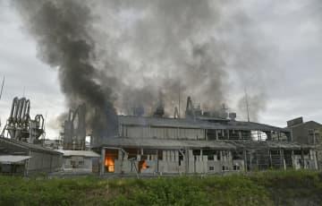 福島の工場で爆発、4人けが 化学品を製造 画像