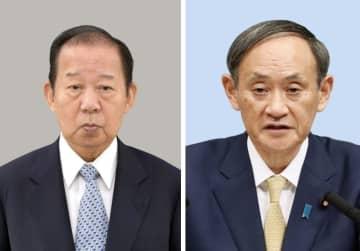 二階氏、菅首相続投を支持 「政治の安定が大事」 画像