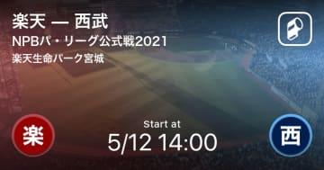 【NPBパ・リーグ公式戦ペナントレース】まもなく開始!楽天vs西武 画像