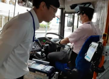 「顔パス」乗降で実験 佐倉・山万の路線バス 利便向上、コロナ対策も 千葉