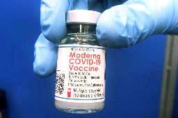 米モデルナの新型コロナウイルスワクチン(資料写真)