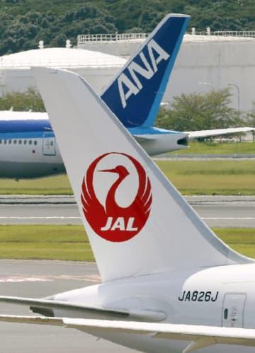 ニュース画像:全日空、日航は14日職場接種 初の前倒し、羽田空港で