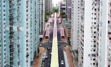 「ギマランイス大通りスカイコリドー」全景(写真:DSSOPT)