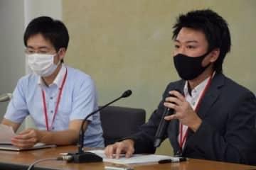 記者会見の様子(2021年6月11日/弁護士ドットコム/都内)