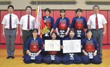 〈剣道女子団体〉21大会連続優勝の守谷