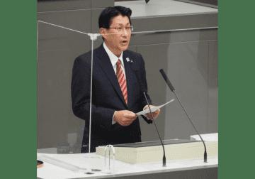2020年9月30日第三回都議会定例会で一般質問に立つ米川大二郎都議