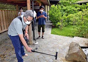 福島・飯坂温泉に「エア旅行」を 宿泊施設の魅力、動画で発信 画像