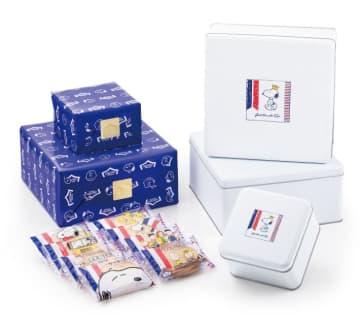 【スヌーピー】缶も個包装も可愛すぎでしょ。ガトーフェスタハラダとコラボは最高! 画像