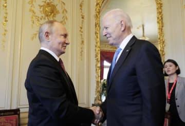 米ロ首脳、大使復帰で合意 初会談、軍縮問題協議 画像