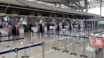 ニュース画像:タイ国内便 原則運航禁止 事実上のロックダウンへ