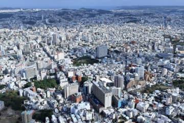 那覇市の中心市街地