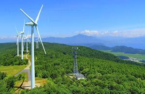 発電した電気の一部を横浜市に供給する取り組みが始まる「会津若松ウィンドファーム」