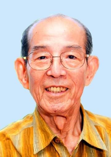 元県副知事の新垣雄久さん