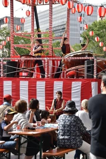 祭りの熱気でコロナを吹き飛ばせ はかた夏まつり2年ぶり開催