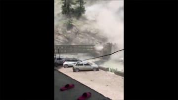 世界各地で続く気象災害 家崩れ 橋崩壊 洪水の地は 画像