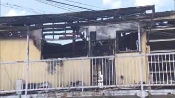 千葉市でアパート火災 焼け跡から遺体 部屋に住む60代男性か