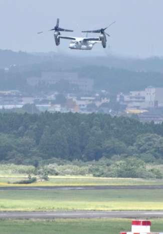 ニュース画像:低空飛行目撃情報 最多ペース57件 鹿児島県内4~9月 大半は米軍機か