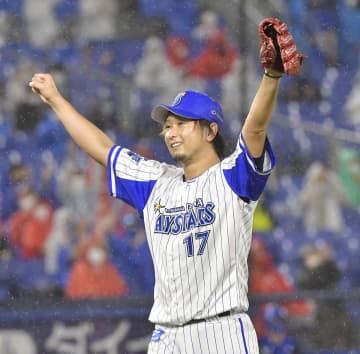 横浜DeNAの三嶋投手(資料写真)