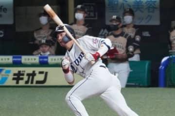 西武・岸潤一郎【写真:宮脇広久】