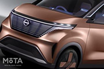 「ニッサン IMk Concept(アイエムケイ コンセプト)」軽自動車クラスのEV(電気自動車)コンセプトカー[2019年10月23日「東京モーターショー2019」会場にて初公開(参考出品)] [p