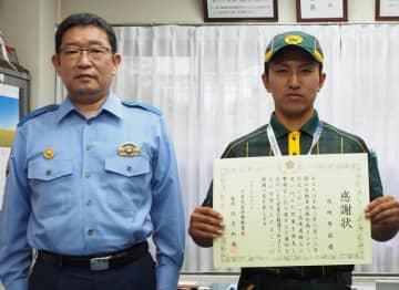 高速道路に迷い込んだ6歳児を保護 配送社員に感謝状 富津館山道