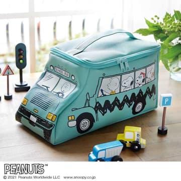 【付録】可愛すぎ!スヌーピーが乗った「バス型ポーチ」お迎えしなきゃ。