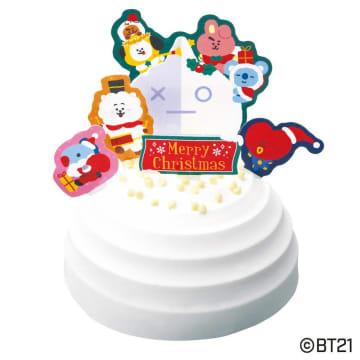 推しと一緒にXmas!BT21、すみっコ、ツイステ…ファミマのキャラケーキすごすぎ。