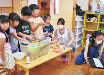 園児がリモートで実験 科学の不思議楽しく学ぶ 厚木市・愛川町・清川村