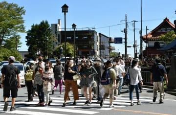 渋滞、満車… 久々のにぎわい 3連休中日の日光・那須 「複雑」の声も【動画】