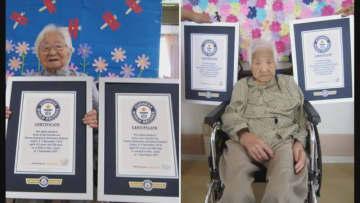 敬老の日に「世界最高齢の女性の一卵性双生児」ギネス認定 107歳のウメノさん、コウメさん