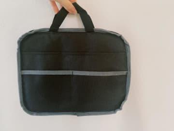 カバンの中をスッキリ整理!ダイソー「リバーシブルバッグ」買って正解だわ。