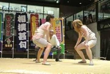 奈良の博物館「相撲館けはや座」には、女性も上がれる土俵があった