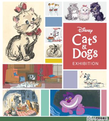 """ディズニーの""""犬と猫""""をテーマにした展覧会、松屋銀座にて開催…12月1日~12月25日"""