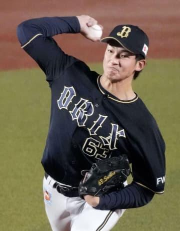 オリックスの山崎颯一郎投手がプロ初勝利 福井県・敦賀気比高校出身