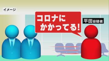ニュース画像:「コロナにかかってる!」空港の手荷物検査を拒否して逃走…男から覚醒剤の陽性反応【福岡発】