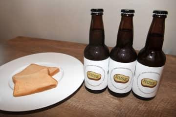 原料に食パンを使ったビール「RUSK」