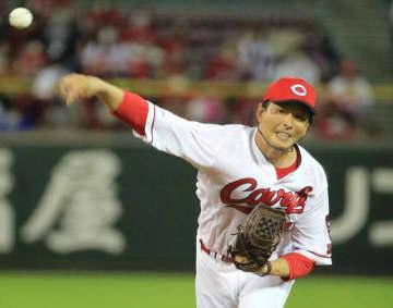 【広島―DeNA】6回2失点で9勝目を挙げた大瀬良