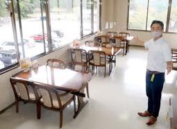リニューアルされたマロニエの店内=朝来市生野町小野