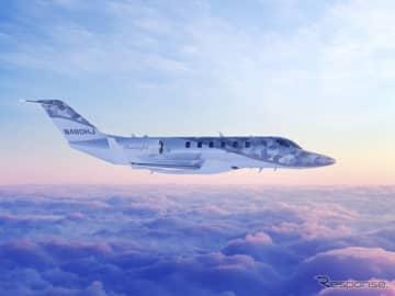 ニュース画像:ノンストップ大陸横断、ホンダジェット2600…米航空ショーに展示