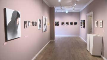 若手の芸術家たちによる日本画展
