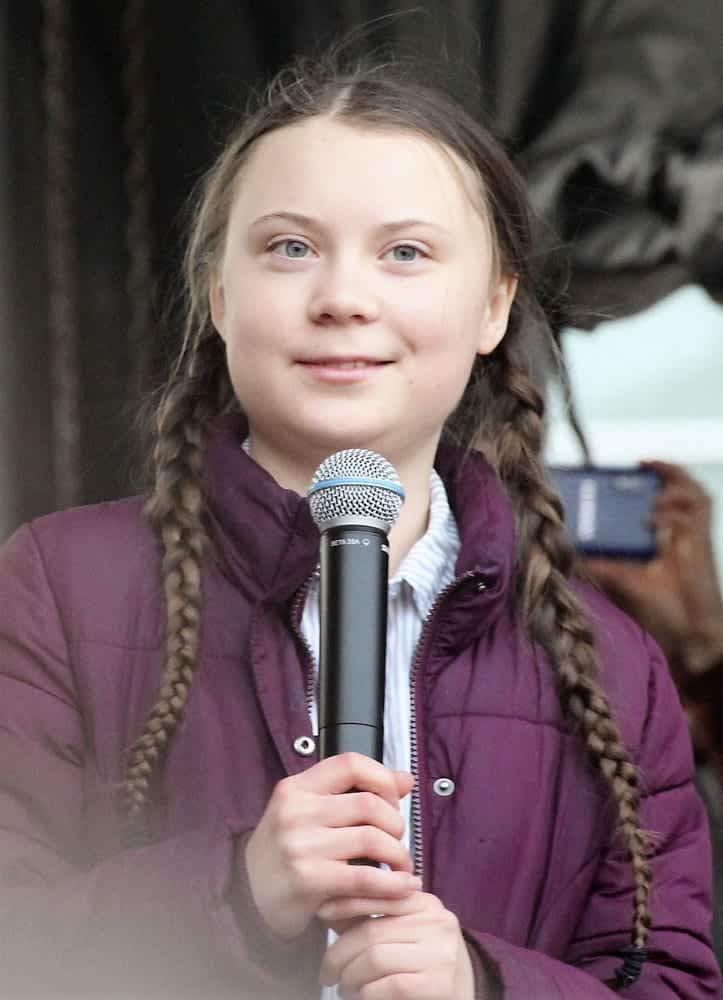 スウェーデン 環境 少女