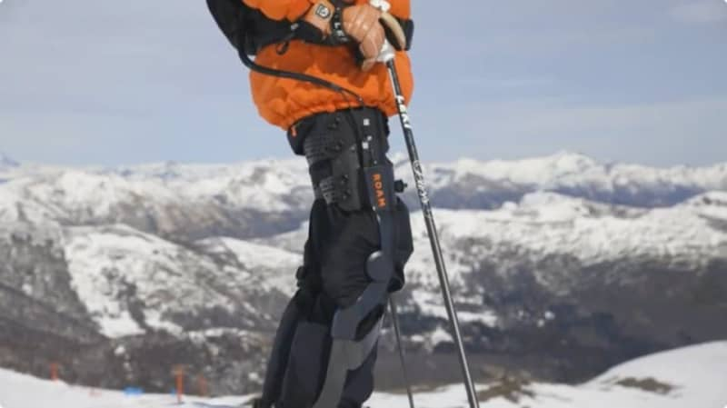 Elevate, a ski-only exoskeleton that lets you enjoy the slopes at any age