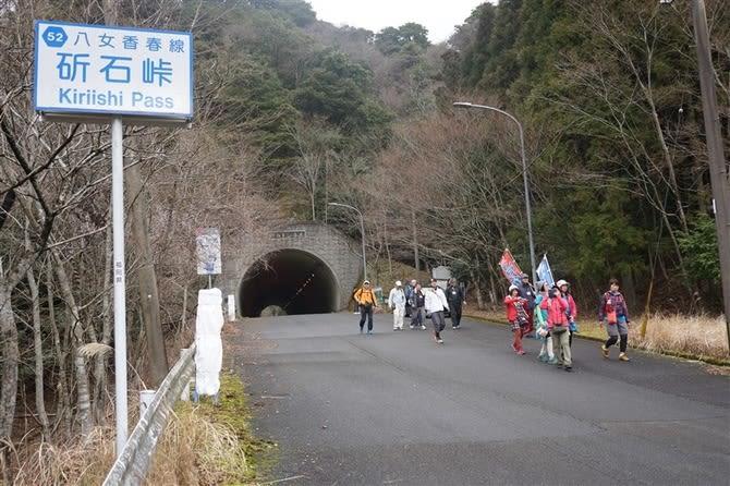 日田彦山線不通区間を歩いて峠越え 先人の労苦を実感