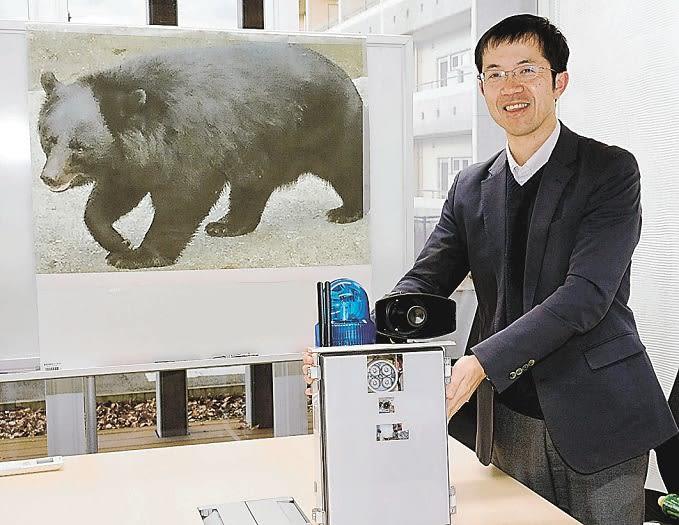 クマ対策に「新兵器」 県会津地方振興局×会津大准教授