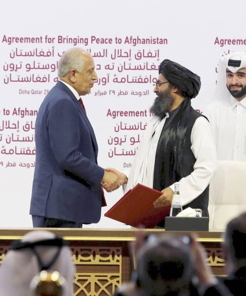 米とタリバンが和平合意 アフガン、テロ温床とせず | 共同通信