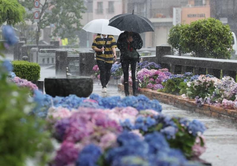 長崎市 梅雨入り 2020