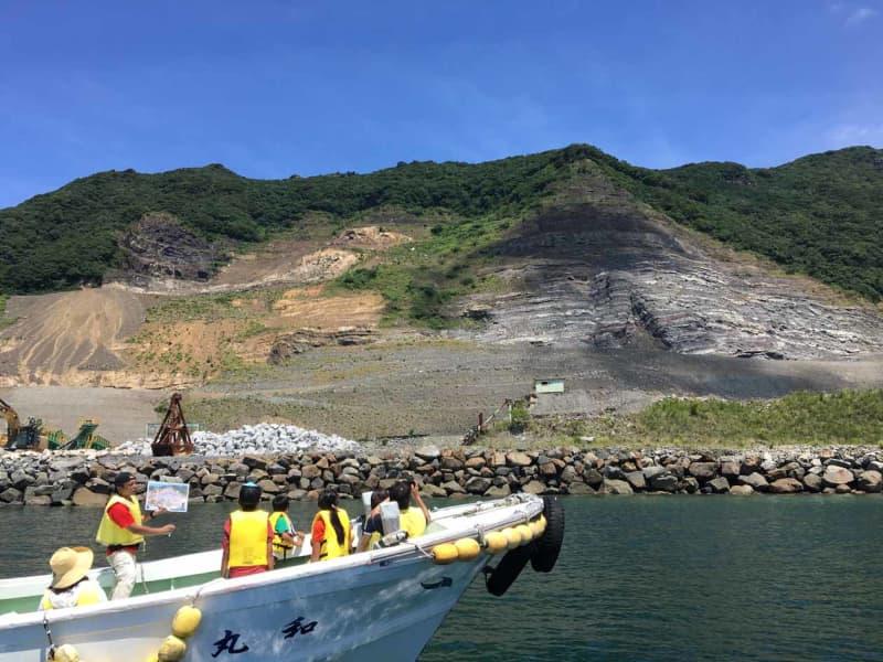 🧳 熊本・天草ジオパーク「恐竜の島 化石採集クルージング」御所浦島で化石採集体験 ※2020年は県…