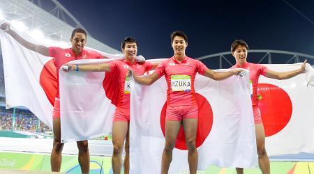400メートルリレー日本代表がリオ五輪で銀メダルを獲得した秘訣とは